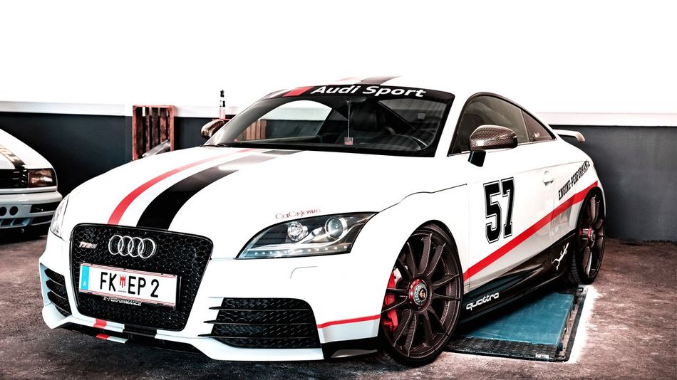 Audo Sport TTRS Ttrs Audi Car Wrapping Carwrapping EyeEm Selects Car Mode Of Transportation Motor Vehicle Transportation Land Vehicle No People
