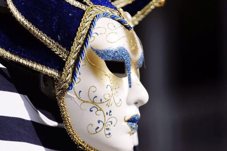 Colors Of Carnival Carnival Mask Venice Italy Colorful