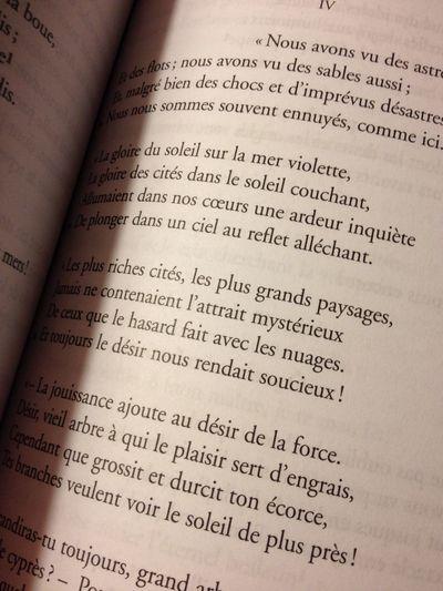 li02/02/14 oggi non avevo ispirazione, allora ho deciso di dedicare i miei 10 minuti a una cosa che volevo fare da mesi ma che non avevo mai avuto l'occasione di fare. Mi sono andata a cercare Les Fleurs Du Mal e ho letto, per dieci o forse più minuti, le poesie di Baudelaire ... Che dire, versi molto profondi ma allo stesso tempo quotidiani e moderni. Grazie per avermi chiarito quelle idee che erano ancora confuse.