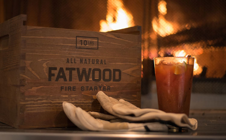 Sunday by the fire in winter Bloody Mary Burning Cozy Den Fat Wood Fireplace Flame Hearth Home Indoors  Living Space No People Relax Stoke Sunday Warm Up Warming Winter Winter