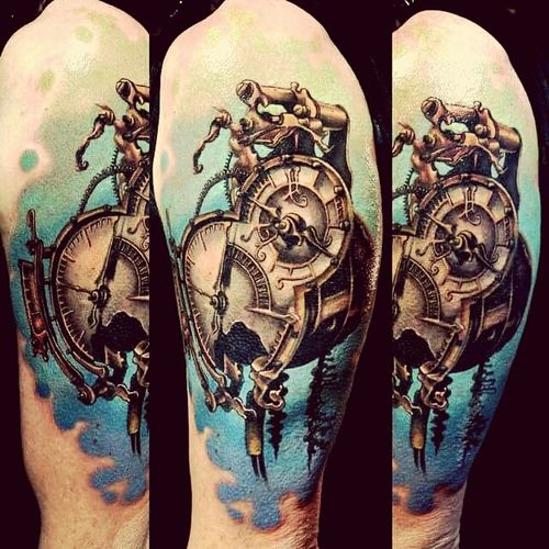 Tattoo Ink Creative Inspiration Relaxing Jinete