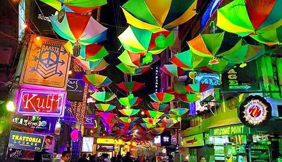 Diwali Jashn in Hauz Khas. Hauzkhas Umbrella Diwali India Delhi Festival Colors Lights Indianfestival DelhiGram Sodelhi Dilli WhenInDelhi Incredibleindia
