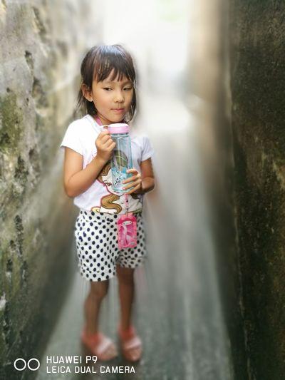 People And Places 華為p9 Huawei P9 Leica smartphone Me Lovely DaughterDual Camera Little Girl Enjoying Life Hong Kong Bokeh Filter