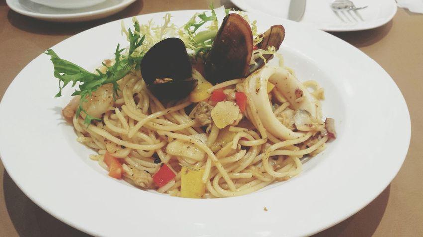 Seafood Spaghetti Seafood Noodle