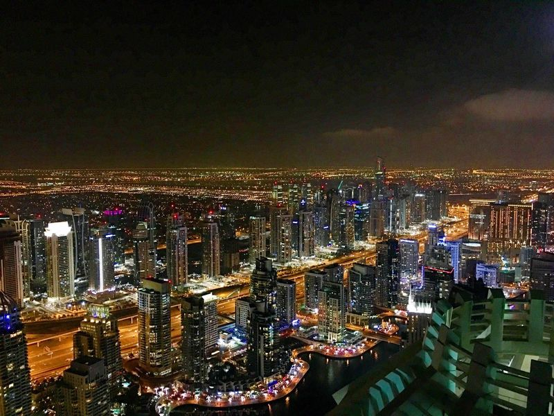 My Dubai Dubai Traveling City Cityscapes City Lights 75th Floor 75th Enjoying Life Taking Photos IPhoneography Princess Tower Weekend Activities Hello World Check This Out