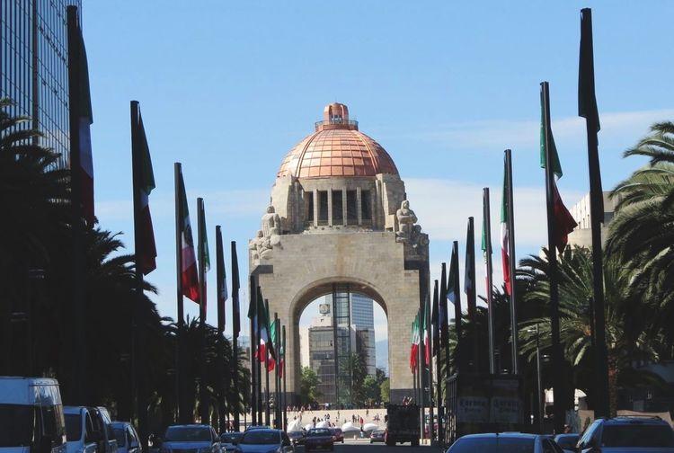 Please, Come Forward, Welcome Monumento A La Revolucion Photooftheday Monumentpark