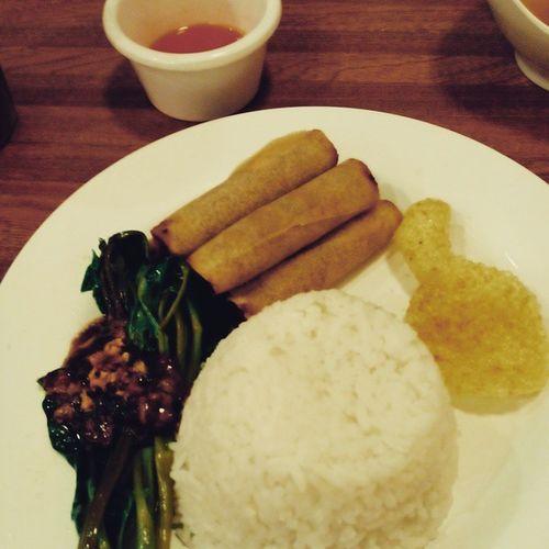 Shanghairolls Kangkong Adoboconnection Vscocam Just ate my dinner :> heheh