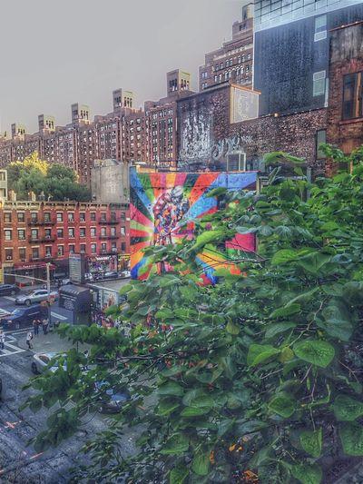 New York New York City Victorykiss EduardoKobra Alberteise Color Portrait High Line Park Highline