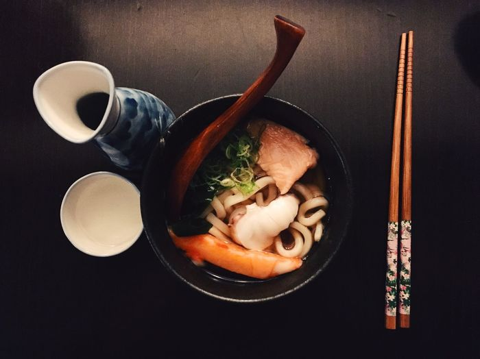 Asian Culture Chopsticks Food Food And Drink Healthy Eating Japanese Food Lifestyle Noodle Seafood Udon