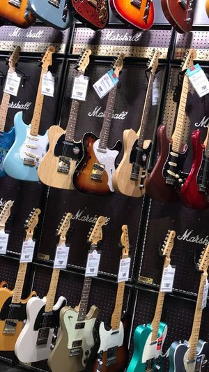 Wall of guitars for sale Guitars Wall Of Guitars Guitar And Amp