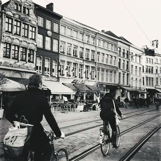 Shades Of Grey Ghent Belgium Bike Ride