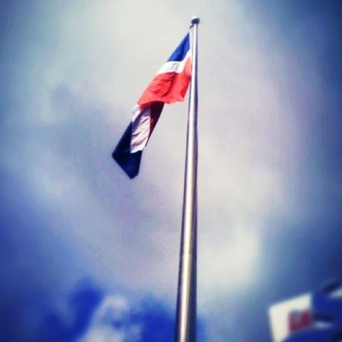 Alla en lo alto.... Flag Dominicanflag 3Gonly Iphonegraphy work