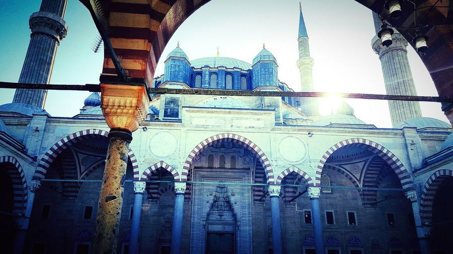 Mosque Travel Destinations Architecture Travel Tourism Sky Built Structure Dome Place Of Worship Building Exterior City No People Outdoors Day Turkey Istanbuldayasam Istanbul Islam Islamic Architecture Islamic Art Islamicquote First Eyeem Photo