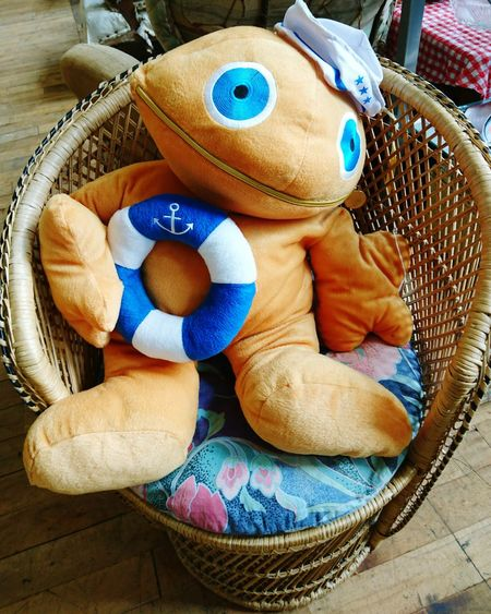 Soft Toy Sailor Taking Photos Hello World Check This Out Seat For Sale On Offer Zippy