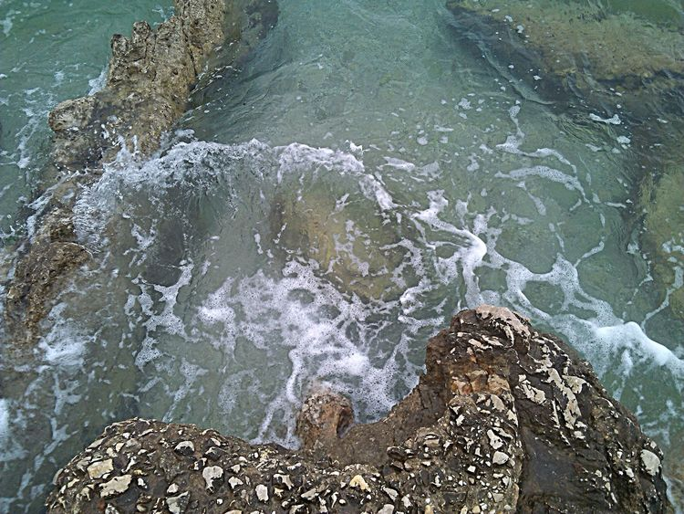 Beauty In Nature Close-up Crikvenica Croatia Day Flowing Water Idyllic Motion Nature No People Outdoors Rock - Object Sea Water
