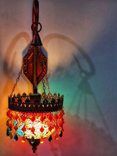 Traditional Arabic Hanging Lamp. Traditional Arabic Hanging Lantern. Colourful Arabic Lantern. Colourful Mediterranean Lantern. No People Arts Culture And Entertainment Multi Colored Architecture Close-up Lamp Light Unique Design Designer Lamp Lamp Design EyeEmNewHere Shadowsandlight Hanging Lamp Evening Colors Lantern Light Hanging Light Hanging Lamps Antique Lantern Arabic Style Arabic Lantern Designer Lamps Classic Lamp Unique Style Multicolors  Artistic Light Lamp Lights In Decorations