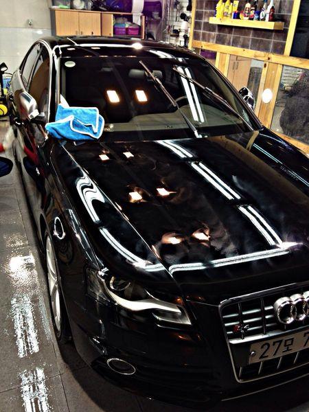 waxing. Audi S4