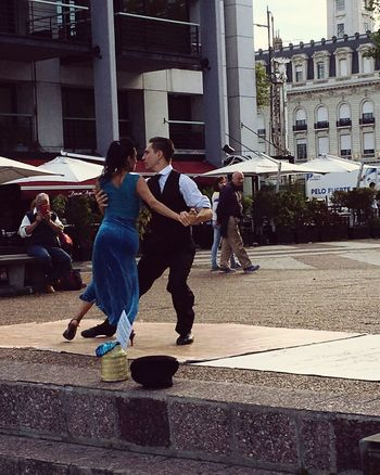 Outdoors City People Tango Dancers Adult Adults Only Young Adult Real People Buenosaires Tango Time Tango Lifestyles