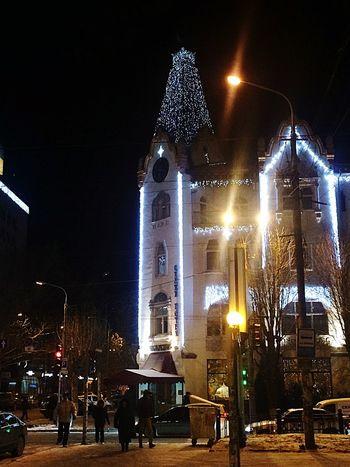 Winter Happy City Street Ukraine Dnepropetrovsk IPhoneography Hotel город зима мойгород