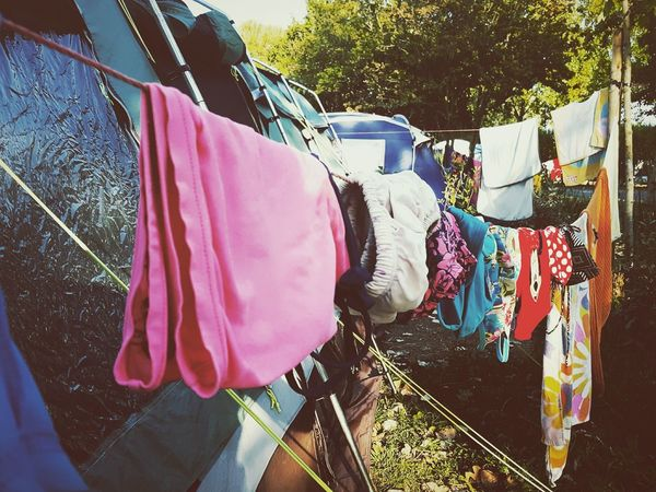 This Is Summer day 15. Swimwear Hothothot Washing Line Campinglife Things In A Row