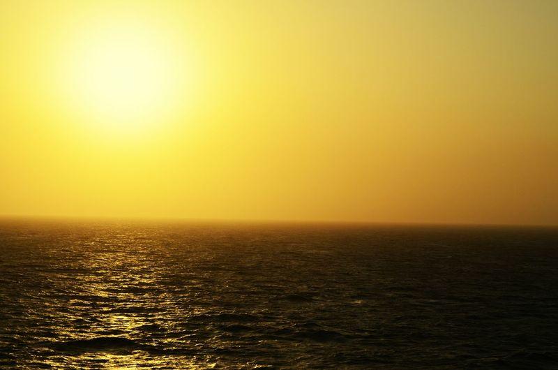 Caribbean Sea Crucero Monarch Sun Sunset