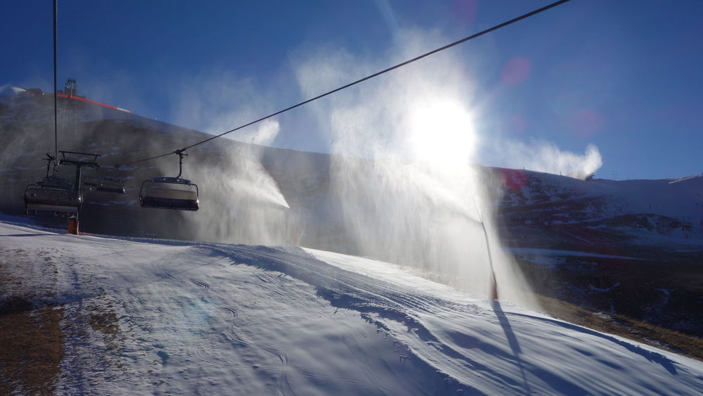 Alps Artificial Beauty In Nature Cloud - Sky Cold Temperature Going Up Italy Italy❤️ Leisure Activity Mountain Mountain Range Mountain View Nature Outdoors Selva Di Valgardena Ski Lift Snow Snow Spray Sunny Sunny Day Taking Photos Taking Pictures Vacation Vacations Winter