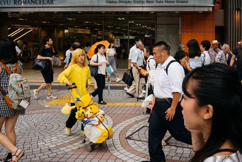Shinjuku Battle Of The Cities Pokémon Pikachu