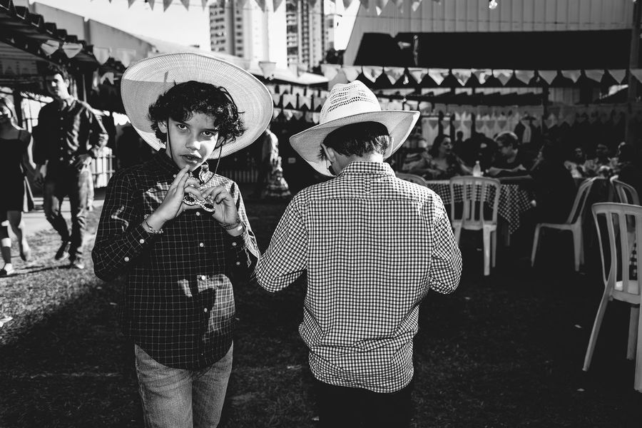 Either way Brazil Celebration Chapéu Cowboy Hat Cowboys Festa Junina Hat Hat June Party Kids Outdoors Party The Photojournalist - 2017 EyeEm Awards The Portraitist - 2017 EyeEm Awards The Street Photographer - 2017 EyeEm Awards