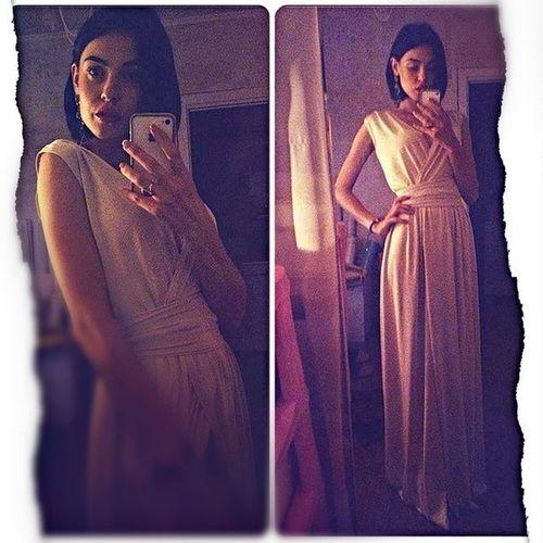 купила наконец себе длинное платье!)