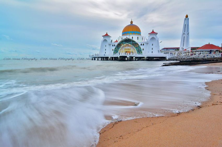 Travel Destinations Sea Architecture Water Travel Dome City Tourism Cloud - Sky Building Exterior Place Of Worship Vacations Sky Wave Outdoors Beach Nautical Vessel No People Day