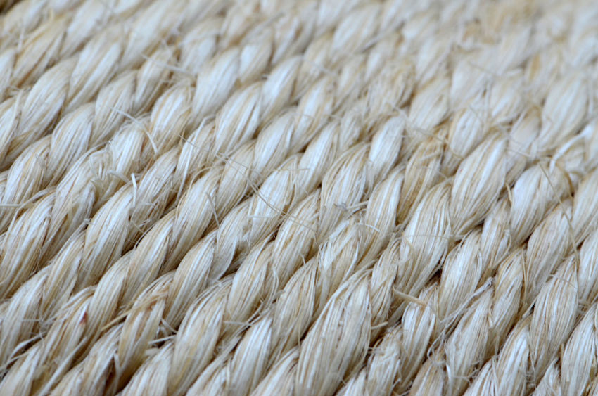 Backgrounds Full Frame Lines, Shapes And Curves Sisal Textured  Twine
