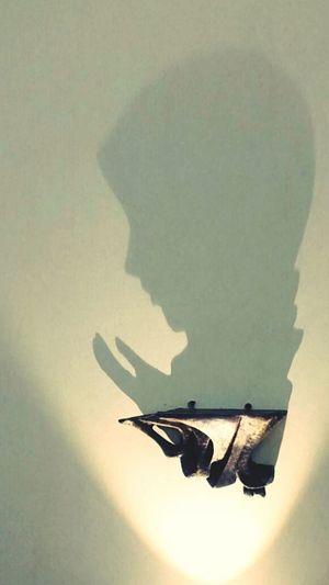 Shadowart Prayinghands Clay Sculpture