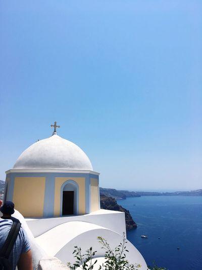 Santorini, Greece GREECE ♥♥ 🎈👻 Church Christ Good Morning