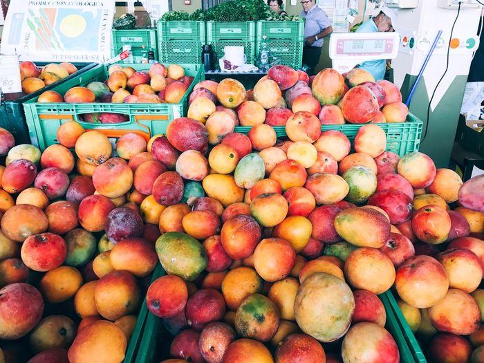Mango Market Shop Fruit Food And Drink Food Freshness Healthy Eating Variation Market Stall Vegetable No People Market