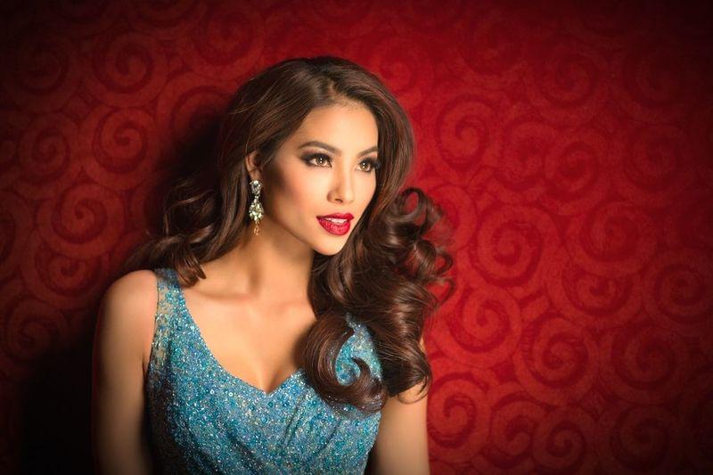 Missuniverse Missvietnam Confidently Beautiful Sexygirl Girl