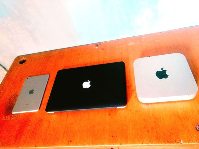 Developers Desk Apple MacBook IPad Mini Macmini Sorted Clean First Eyeem Photo