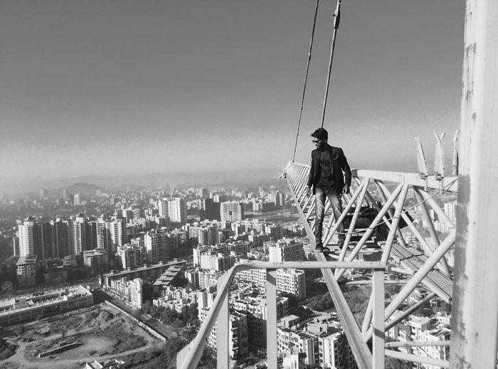 Fear not Urban Crane Climb First Eyeem Photo