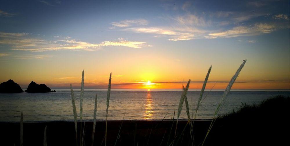 Atlantic Ocean Beautiful Cornwall Sunset Love Cornwall Romantic Sky