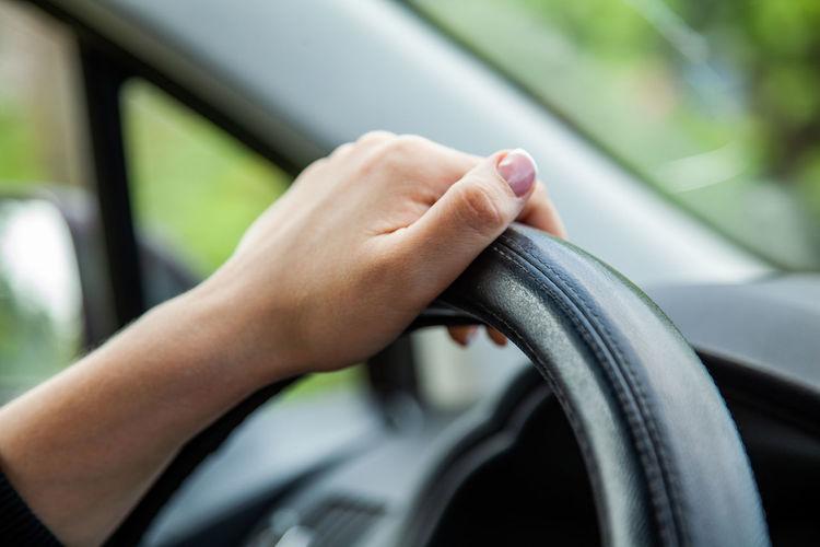 Woman driver,