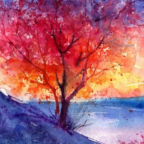 Autumn a sad but lovely season.