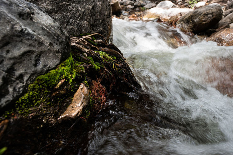 Water Motion Rock Beauty In Nature Solid Rock - Object Flowing Water Scenics - Nature No People Nature Day Long Exposure Waterfall Blurred Motion Land Flowing Rock Formation Sea Outdoors Power In Nature Stream - Flowing Water