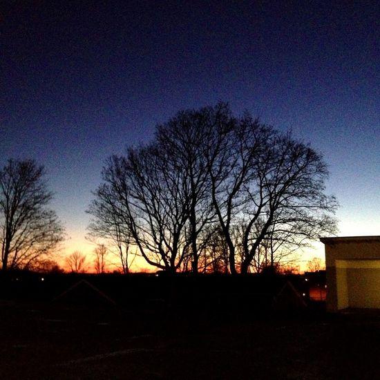 Sunset Blue Sinsen Oslo