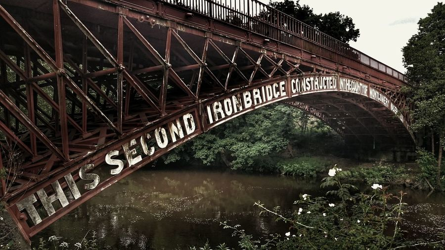 2ndIronbridge  Architecture Historical Place Didnt Know That Iron Bridge River Severn Bridge - Man Made Structure Bridgeporn Bridgesaroundtheworld Iron Bridge Views History Architecture News To Me Archetecture Old Architecture Two Is Better Than One
