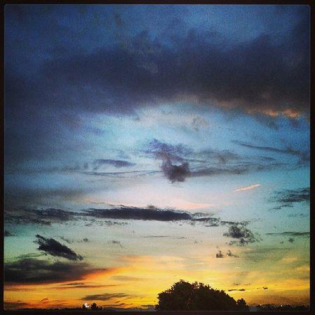 Cielo sopra Locate Triulzi 2