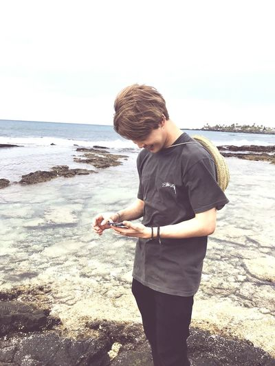 Sky Boyfriendmaterial Sea Teenager Bangtansonyeondan Bangtanboys Parkjimin EyeEmNewHere