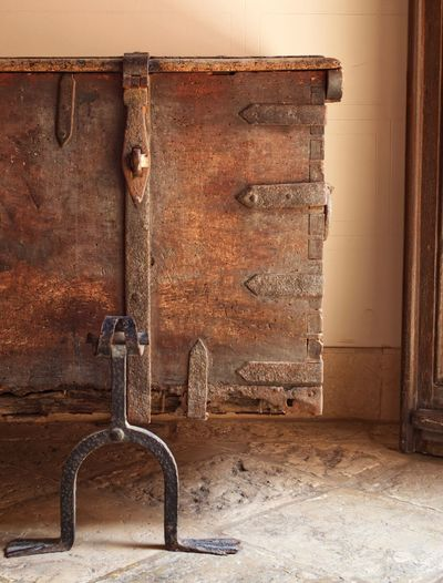 Old No People Wall - Building Feature Built Structure Wood - Material Architecture Abandoned Weathered Entrance Decline Deterioration Indoors  Damaged Brown Close-up