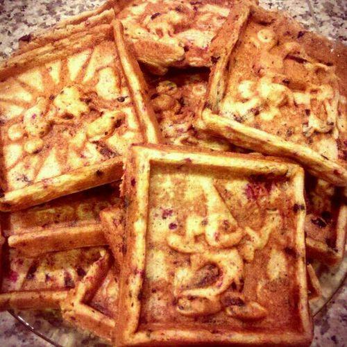 Homemade Waffles yum