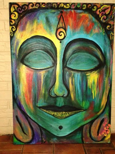 Gypsy Girl Doghairstudio Buddha Cover My World In Paint