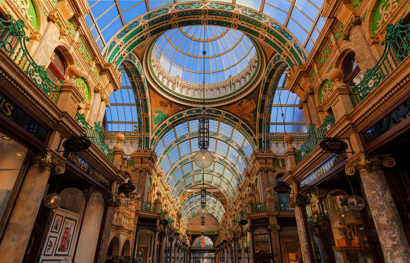 the amazing architectures in leeds, london of the north? at Victoria Leeds. Low Angle View Architecture Built Structure Sky Indoors  Architecture Leeds, UK City Landscape EyeEm Masterclass Leeds Amazing Point Of View Today's Hot Look Street Always Be Cozy