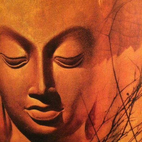 Buddha Art Buddha Close-up Contemplation Front View Lifestyles Portrait Spiritual Spirituality Textured